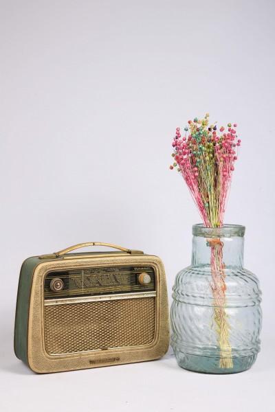 Şoklanmış Doğal Kuru Çiçek Karışık Keten Otu Demeti 30-40cm