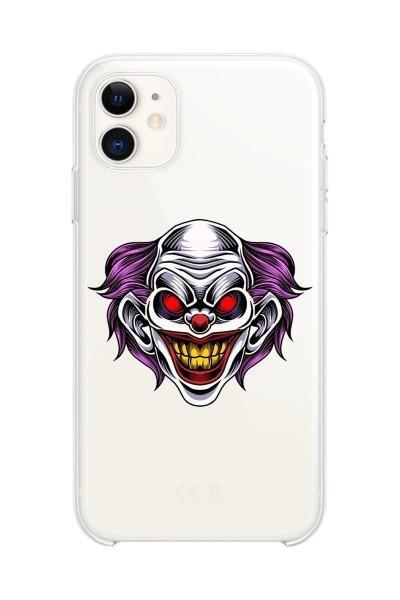 Özel Joker Tasarımlı Baskılı iPhone 11 Kılıfı