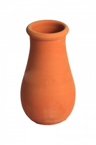 Vazo El Yapımı Özel Toprak Vazo Avanos Çömlek Vazo 22x10cm