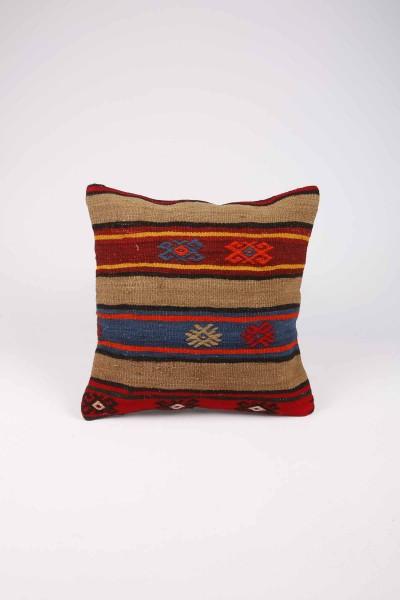 Dekoratif Kilim Desenli Kare Yastık Kılıfı K0141